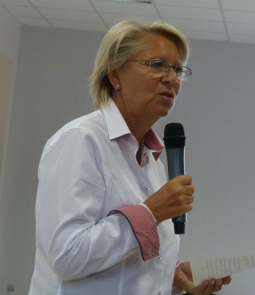Madame Guillaume, directrice-adjointe